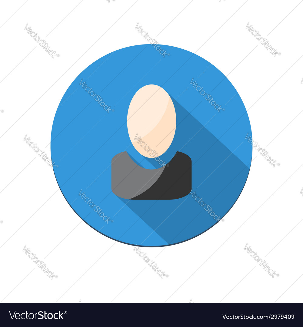 User icon vector | Price: 1 Credit (USD $1)