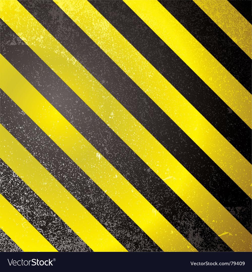 Warning grunge stripe vector | Price: 1 Credit (USD $1)