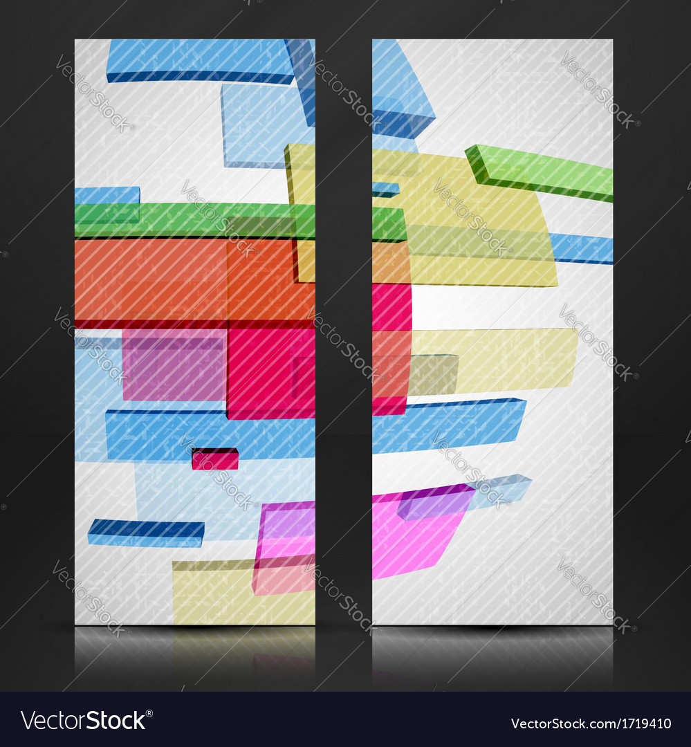 Abstract rectangle background vector   Price: 1 Credit (USD $1)