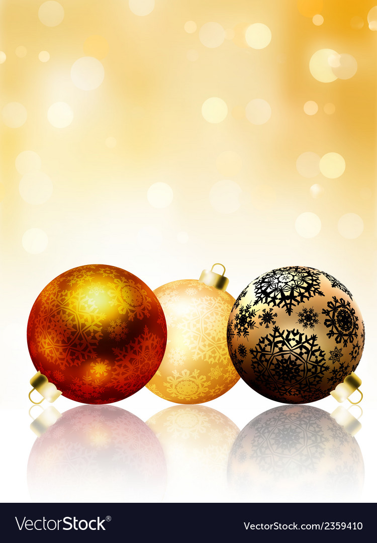 Beautiful gold happy christmas card eps 8 vector   Price: 1 Credit (USD $1)