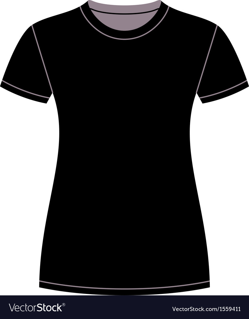 Black t-shirt design template vector | Price: 1 Credit (USD $1)