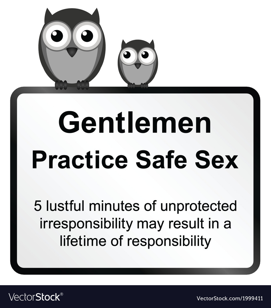 Practice safe sex vector | Price: 1 Credit (USD $1)