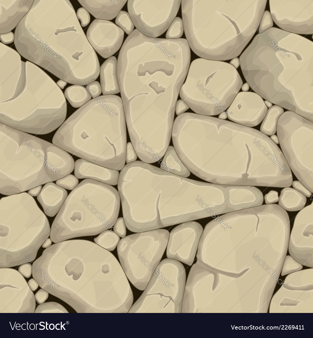 Sand stone seamless background vector | Price: 1 Credit (USD $1)