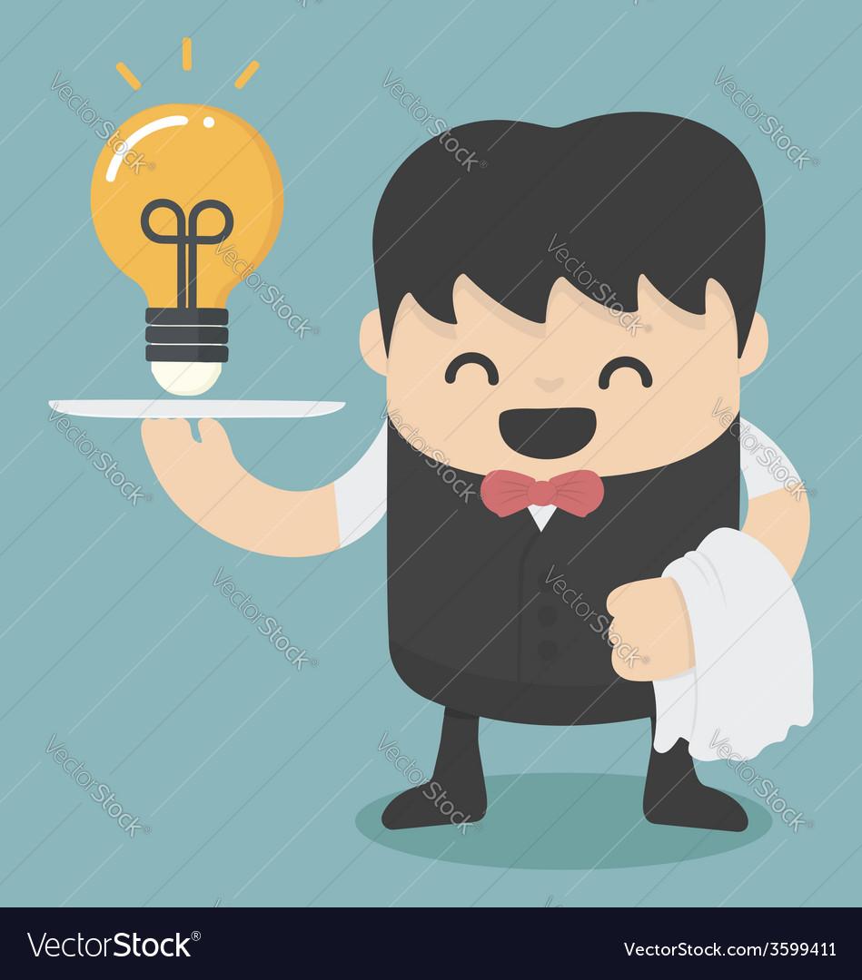 Serving idea vector   Price: 1 Credit (USD $1)
