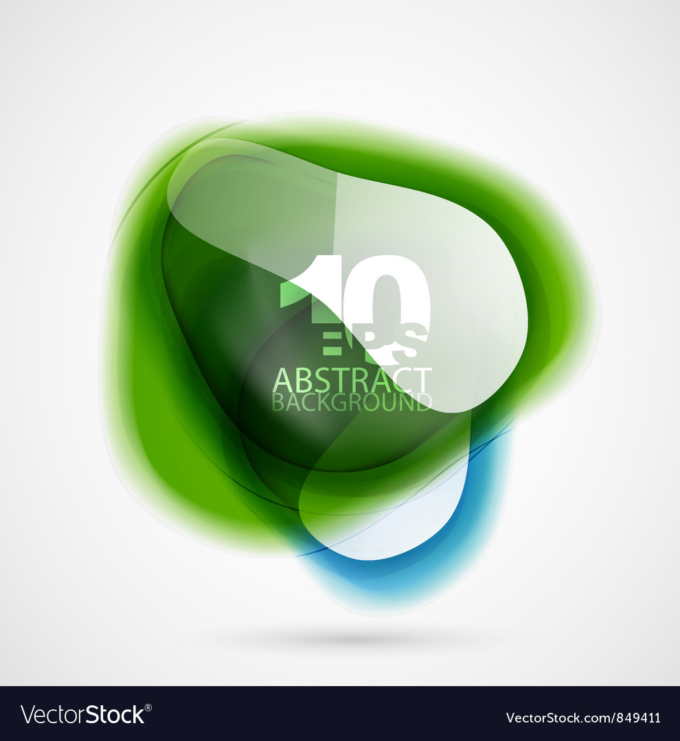 Translucent shapes vector | Price: 1 Credit (USD $1)
