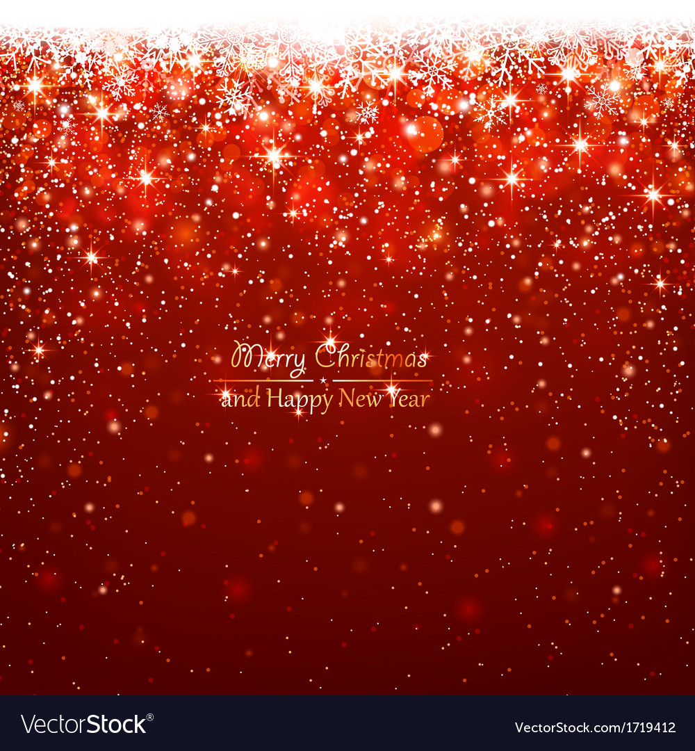 Christmas red background vector | Price: 1 Credit (USD $1)