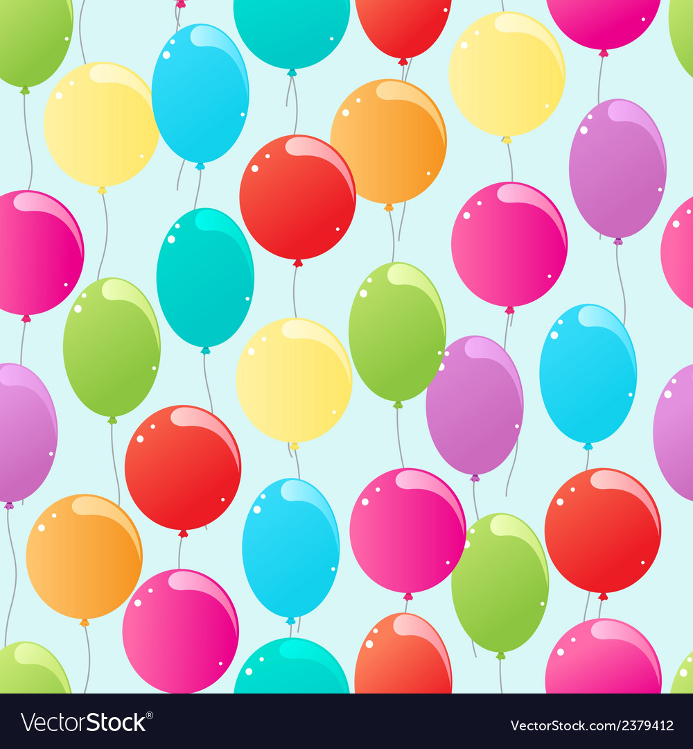 Flying balloons vector | Price: 1 Credit (USD $1)