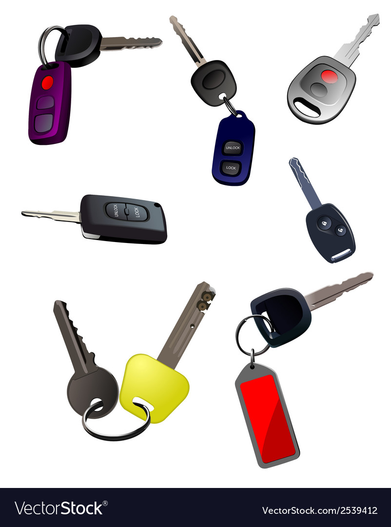 N0331 key set vector | Price: 1 Credit (USD $1)