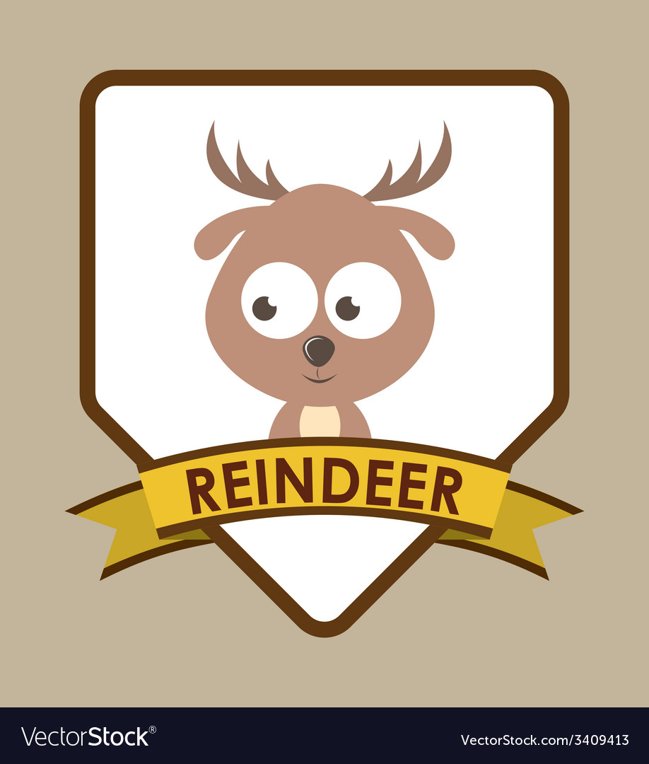 Animal cute design vector | Price: 1 Credit (USD $1)