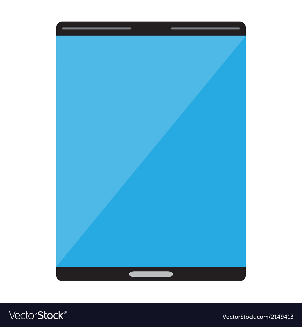 Smart tablet icon vector | Price: 1 Credit (USD $1)