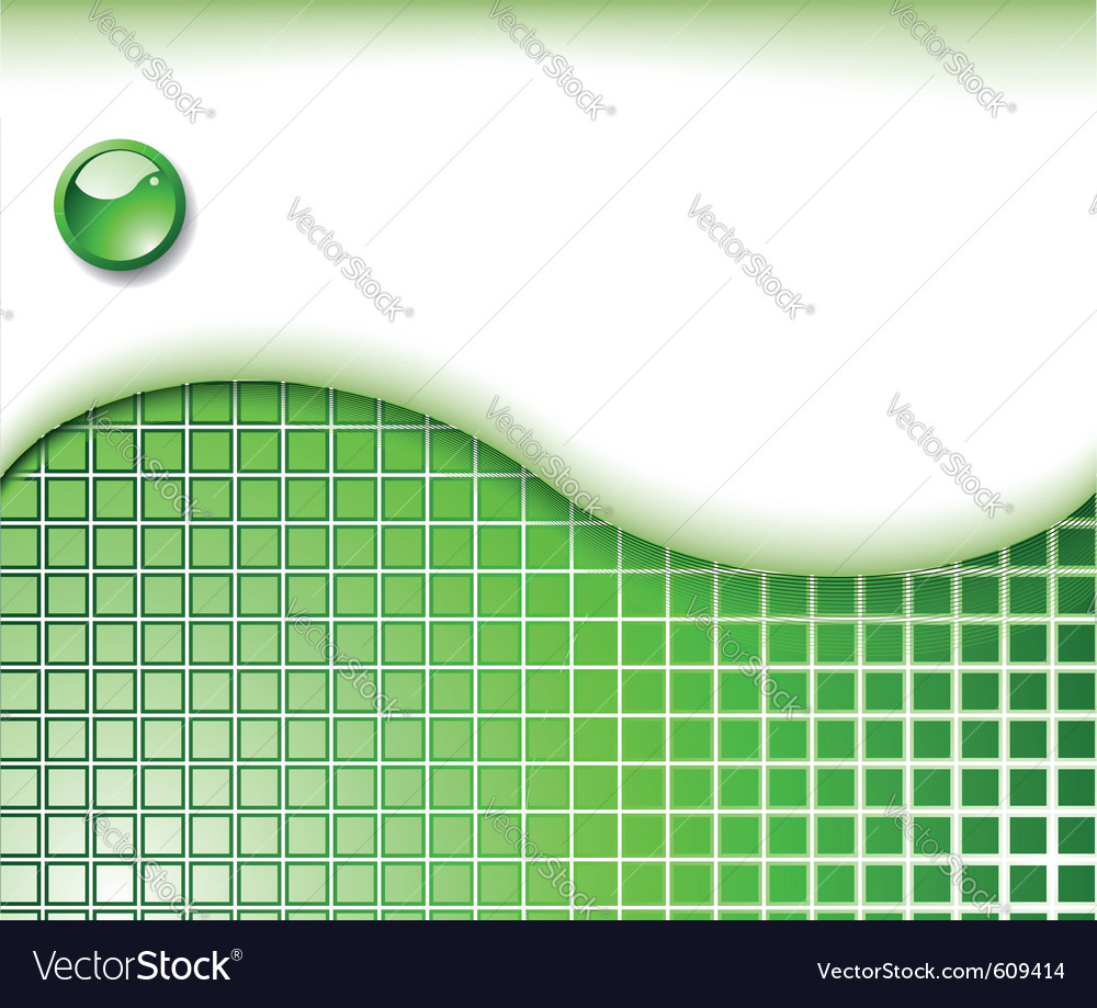 Abstract green business card template vector   Price: 1 Credit (USD $1)