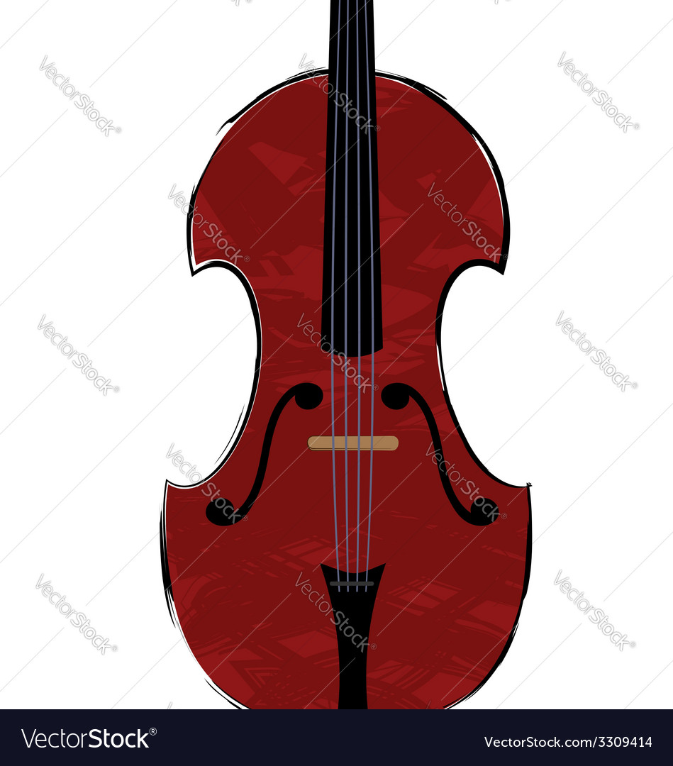 Fiddle vector | Price: 1 Credit (USD $1)
