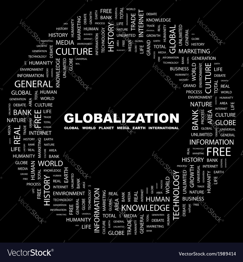 Globalization vector | Price: 1 Credit (USD $1)