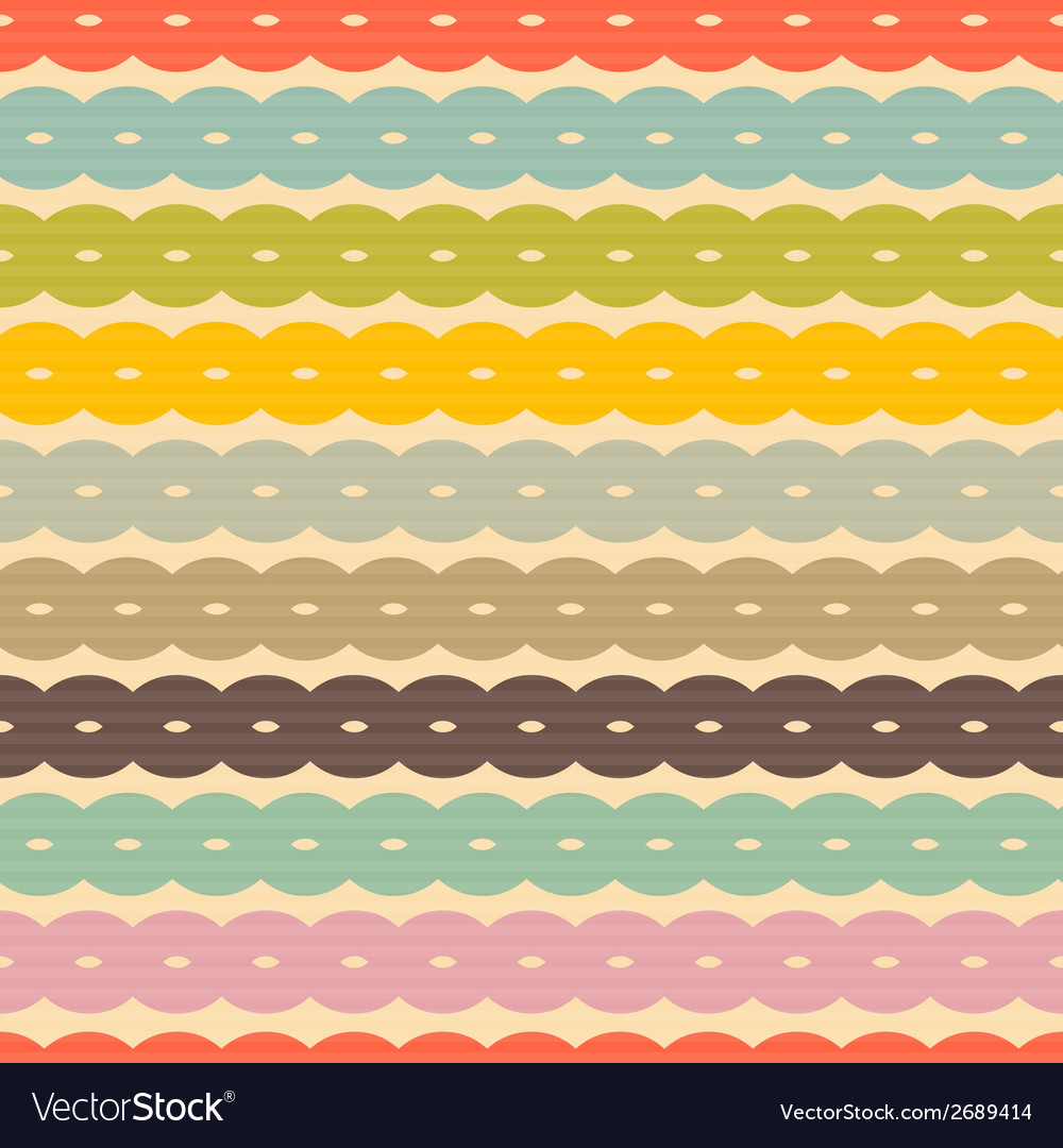 Seamless retro background vector | Price: 1 Credit (USD $1)