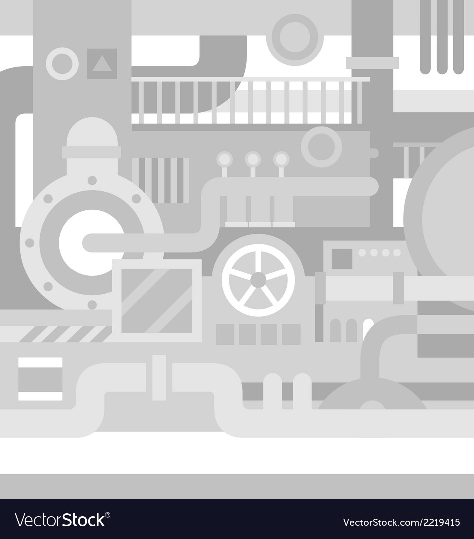 Mechanical industrial background vector | Price: 1 Credit (USD $1)