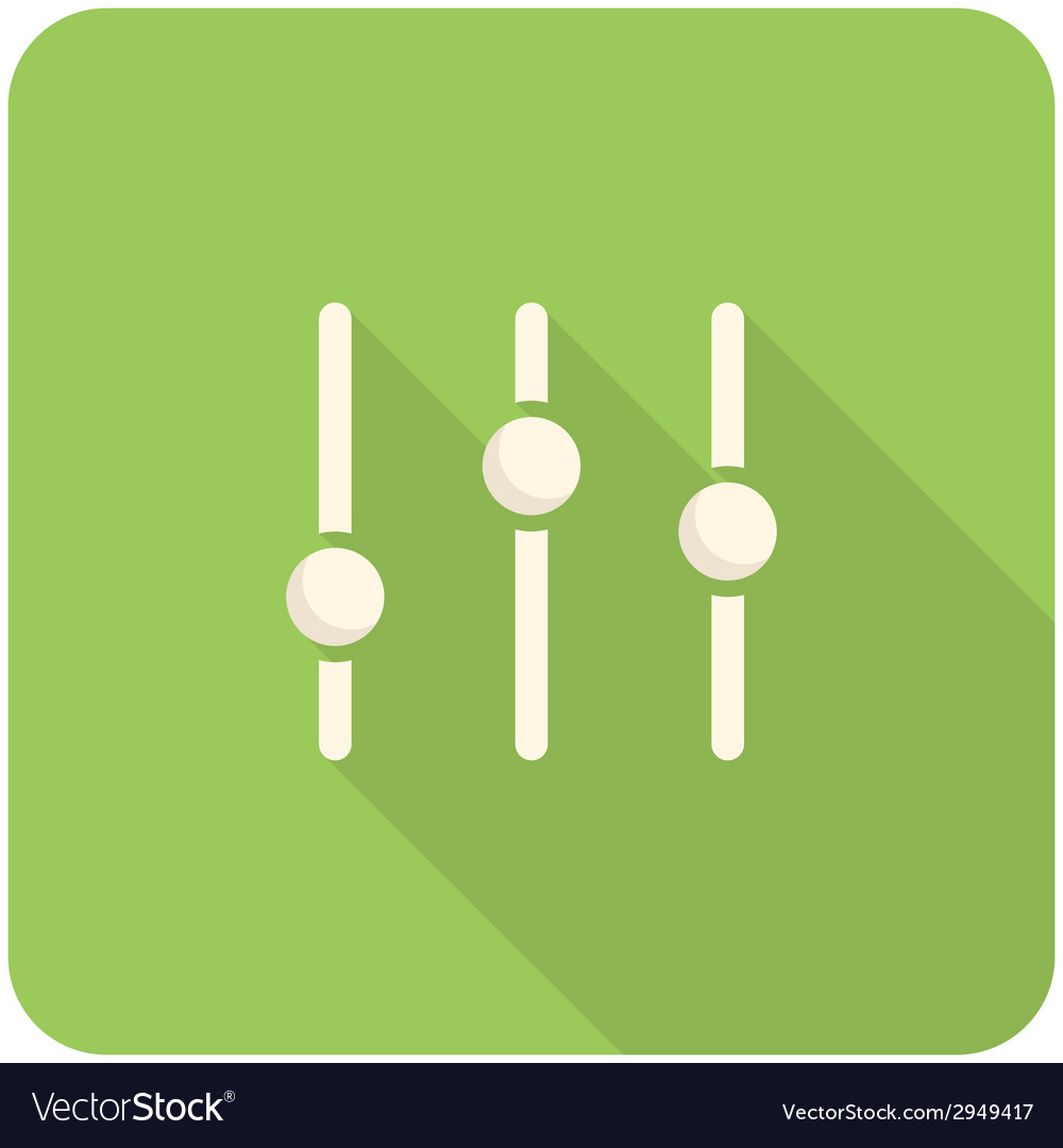 Equalizer icon vector | Price: 1 Credit (USD $1)