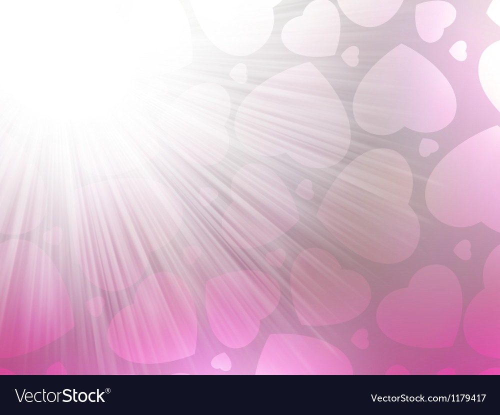 Pink color design with a hearts eps 8 vector | Price: 1 Credit (USD $1)