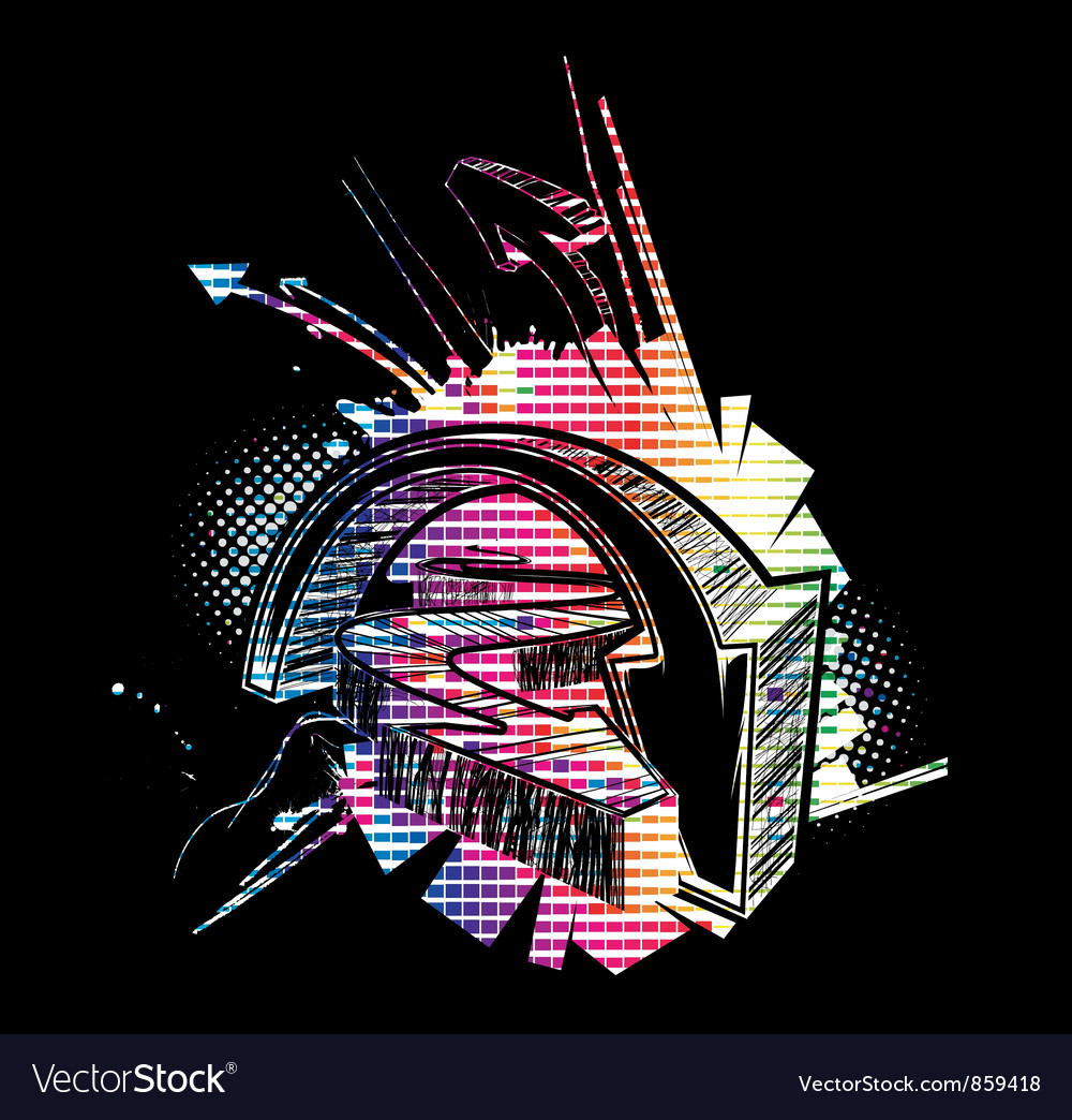 Colorful urban background vector | Price: 1 Credit (USD $1)