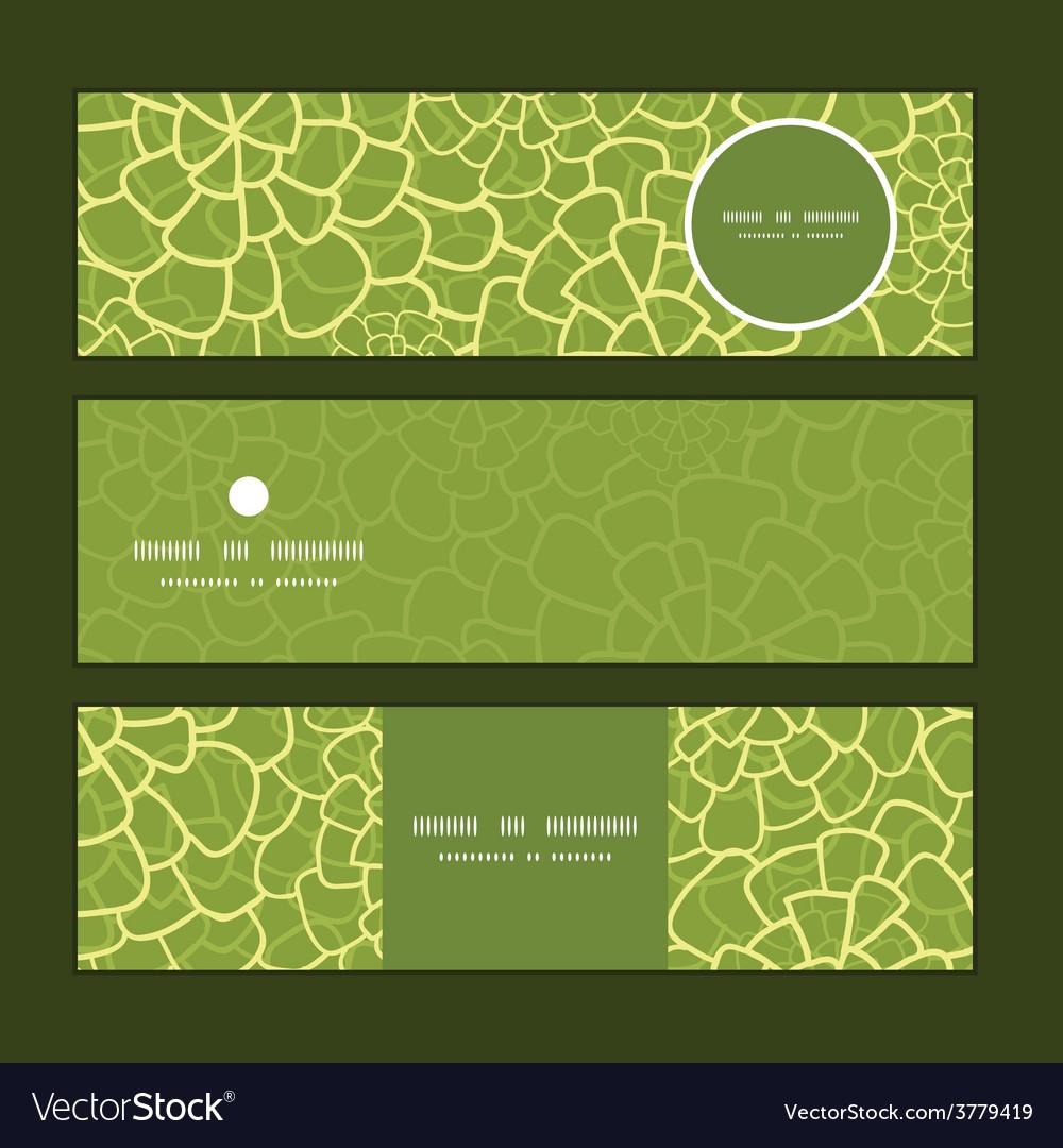 Abstract green natural texture horizontal vector | Price: 1 Credit (USD $1)