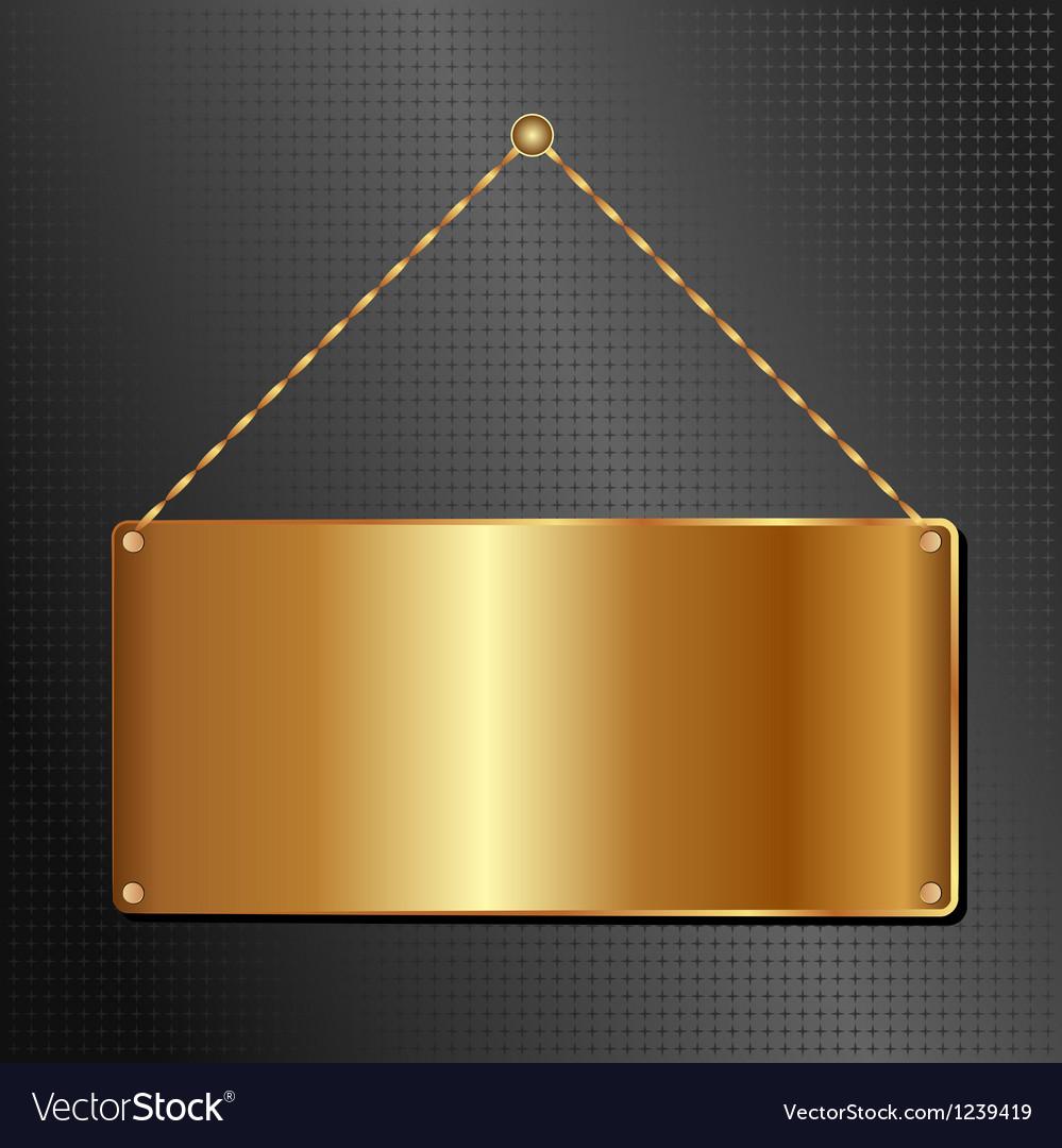 Hanging panel vector   Price: 1 Credit (USD $1)