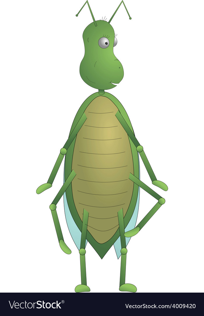 Green insect max vector | Price: 1 Credit (USD $1)