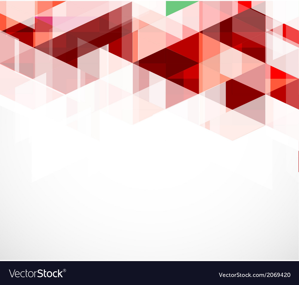 Modern red geometrical abstract template vector | Price: 1 Credit (USD $1)