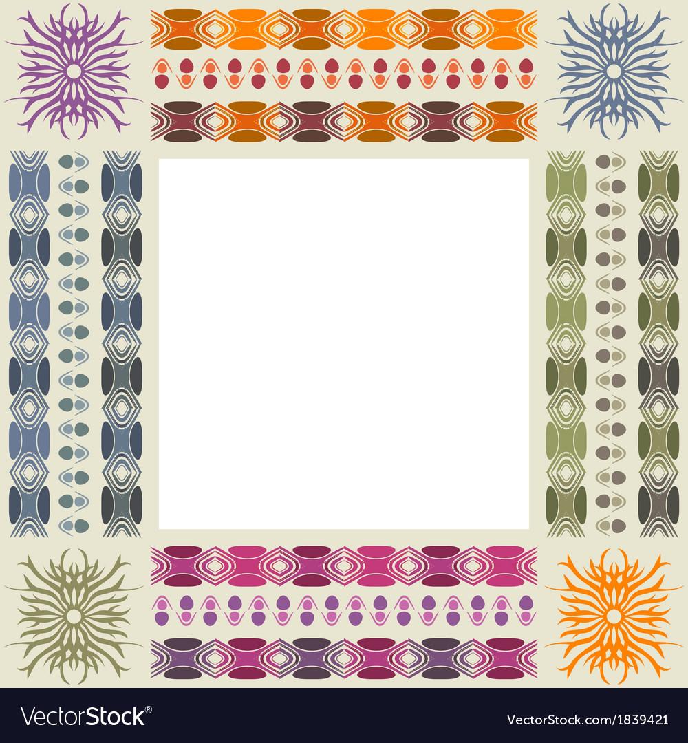 Ornamental photo frame vector | Price: 1 Credit (USD $1)