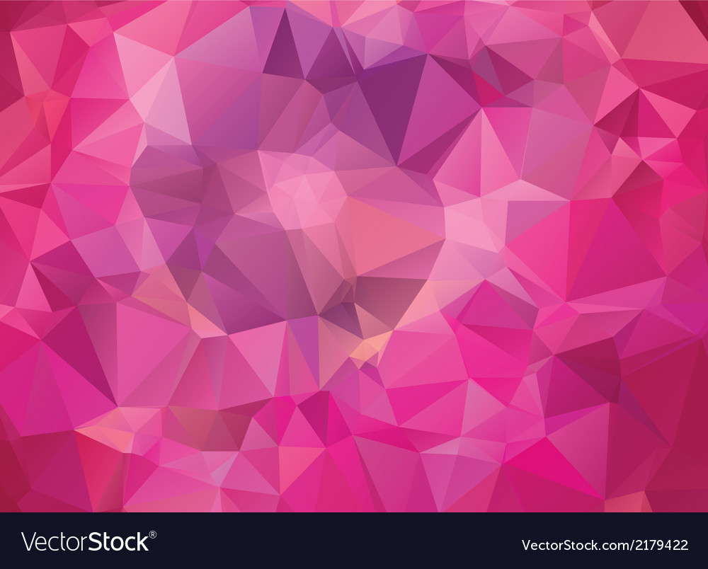 Abstract pink geometric background vector | Price: 1 Credit (USD $1)