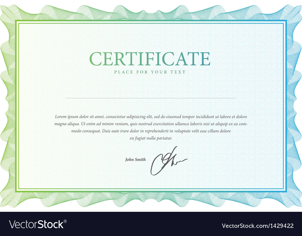 Certificate pattern that is used in currency and vector | Price: 1 Credit (USD $1)