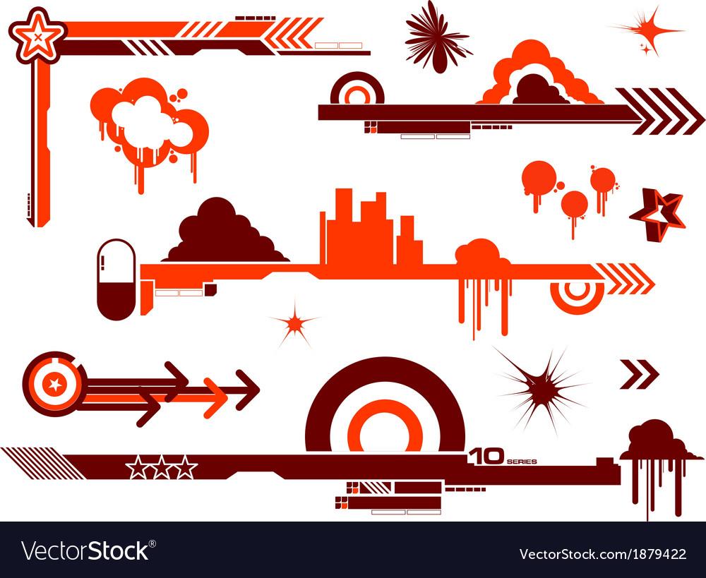 Design elements graffiti vector | Price: 1 Credit (USD $1)