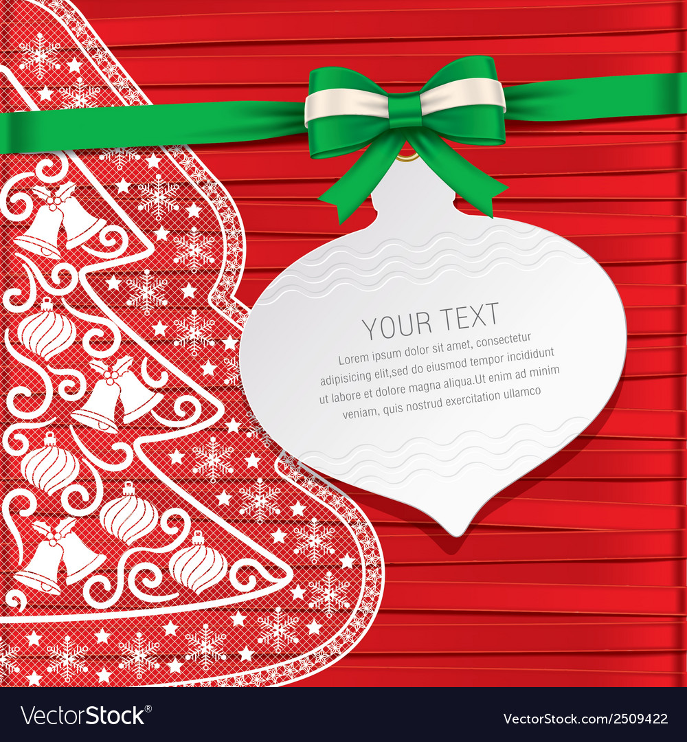 Xmas cardgift cardbeautiful cards vector | Price: 1 Credit (USD $1)