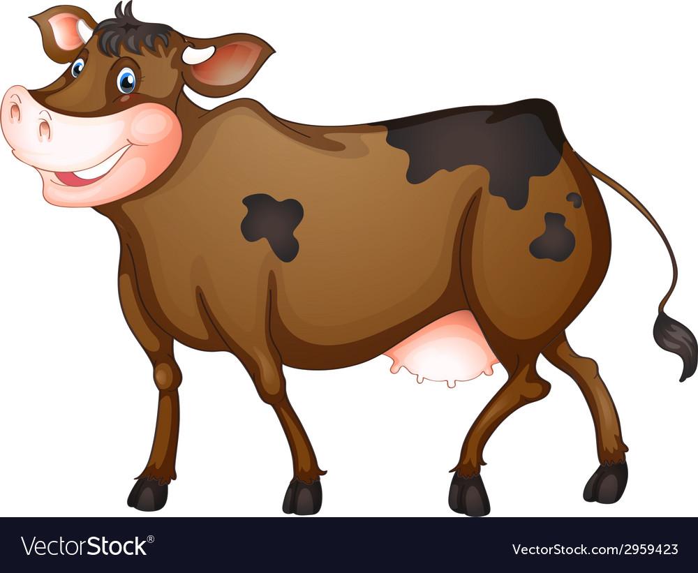 Cow vector | Price: 1 Credit (USD $1)