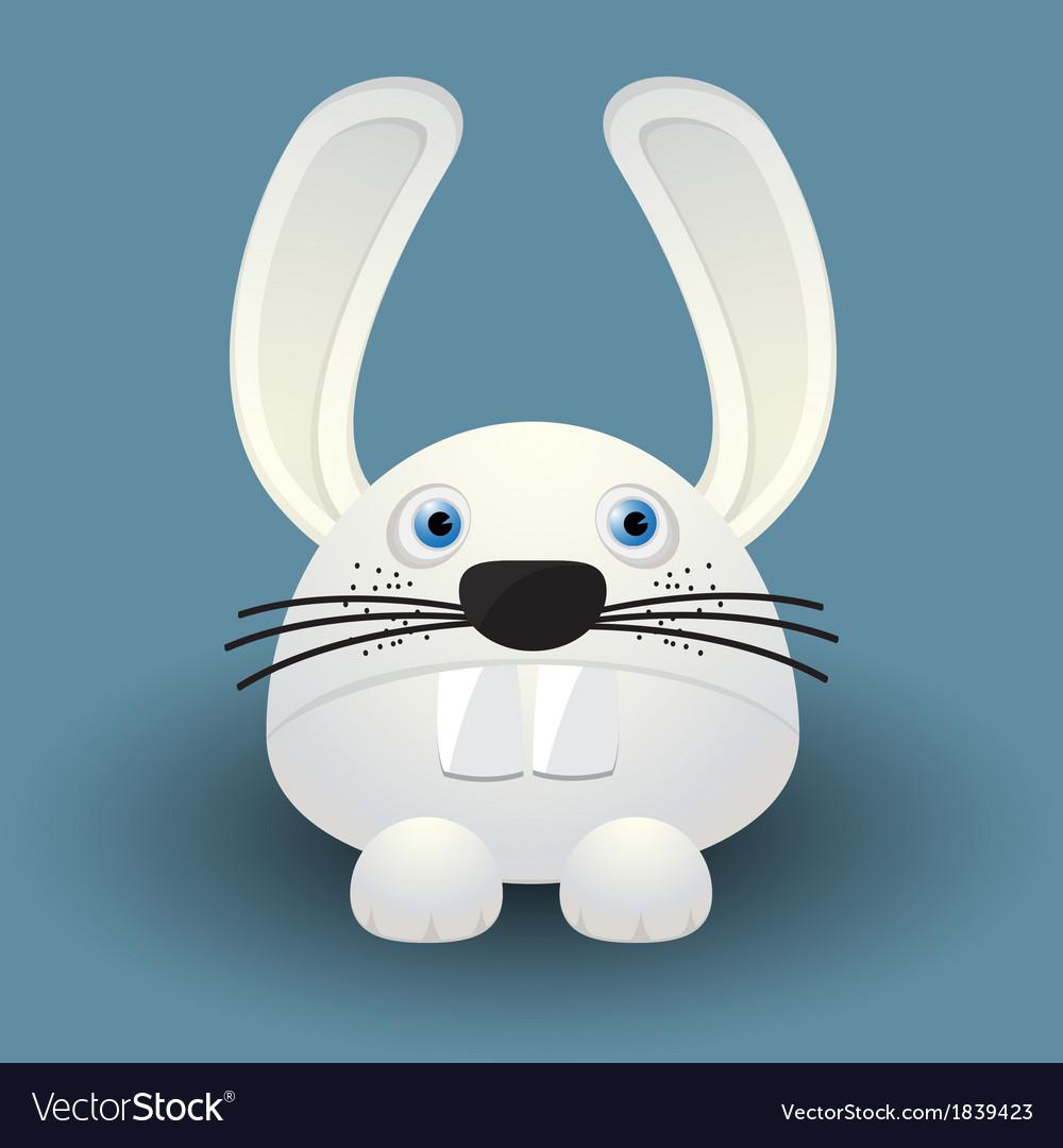 Cute baby rabbit vector | Price: 1 Credit (USD $1)