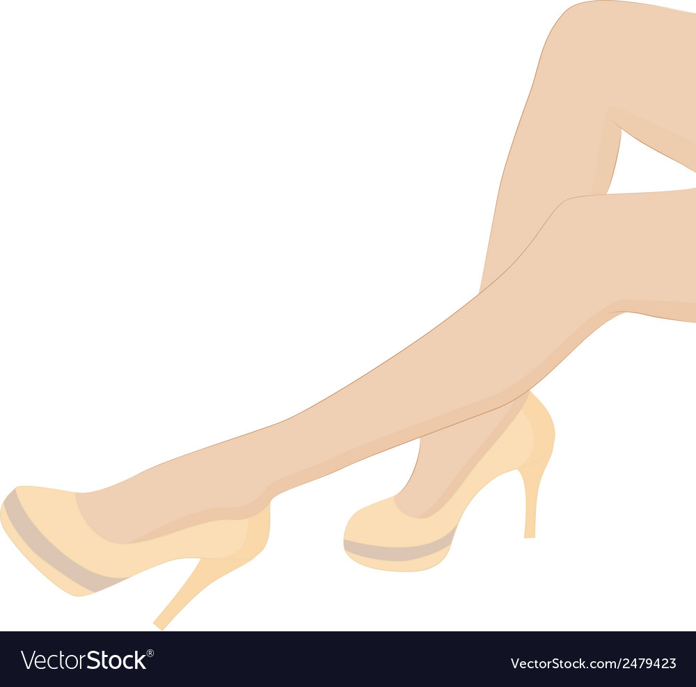 Female legs vector | Price: 1 Credit (USD $1)