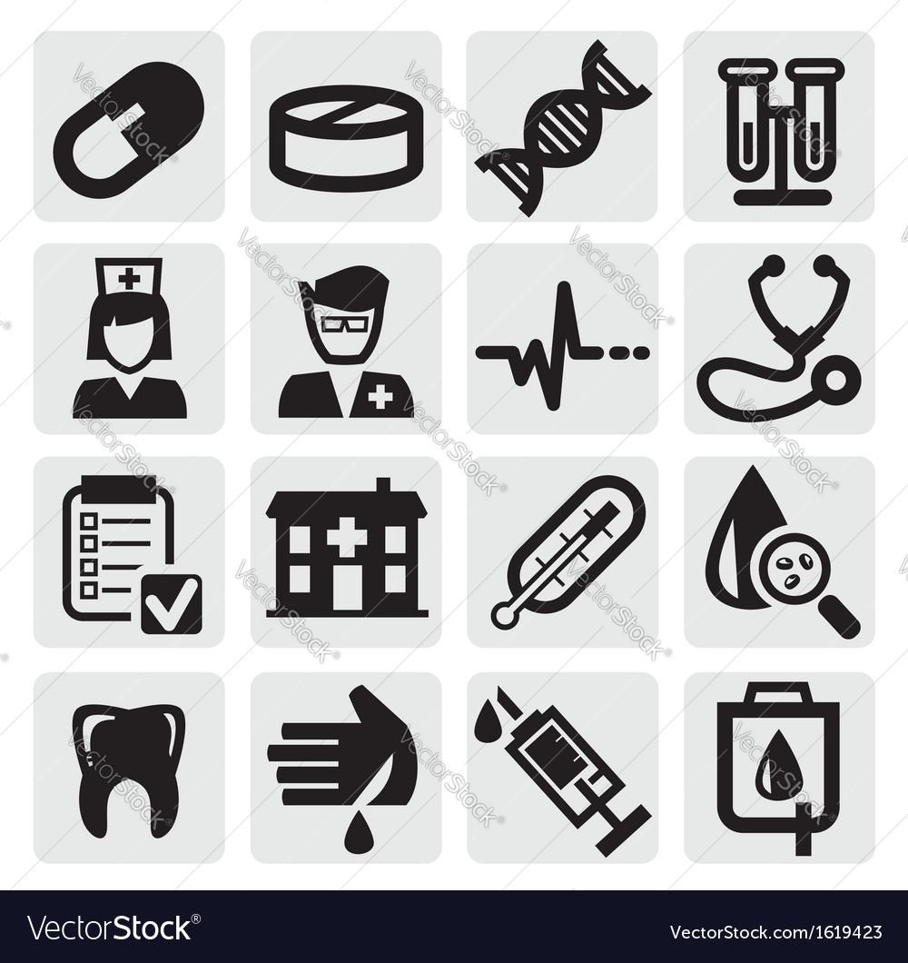 Medical set vector | Price: 1 Credit (USD $1)