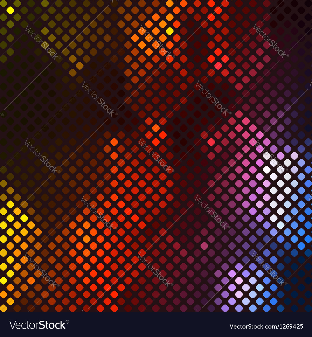 Abstract vibrant mosaic vector | Price: 1 Credit (USD $1)