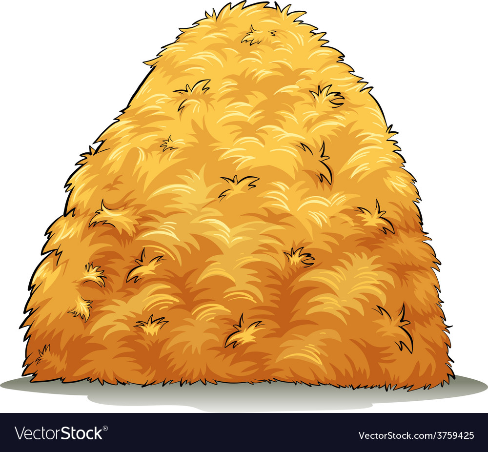 An image showing a haystack vector | Price: 1 Credit (USD $1)