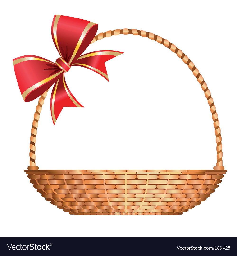 Gift basket vector | Price: 1 Credit (USD $1)