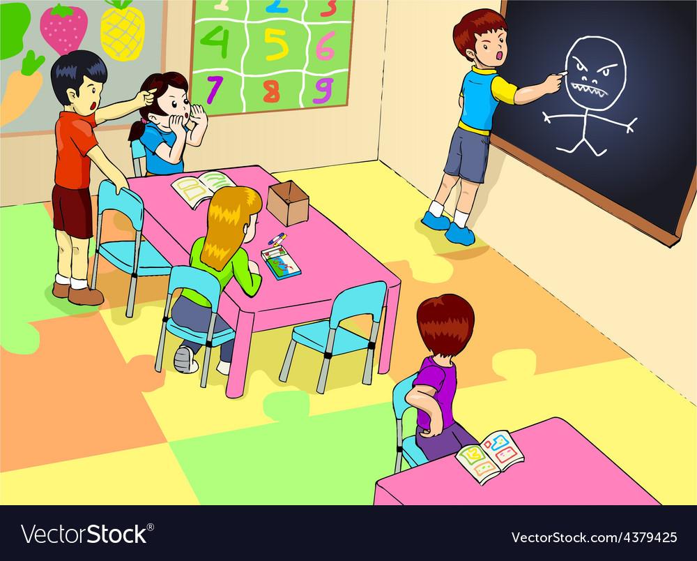 Kindergarten vector | Price: 1 Credit (USD $1)