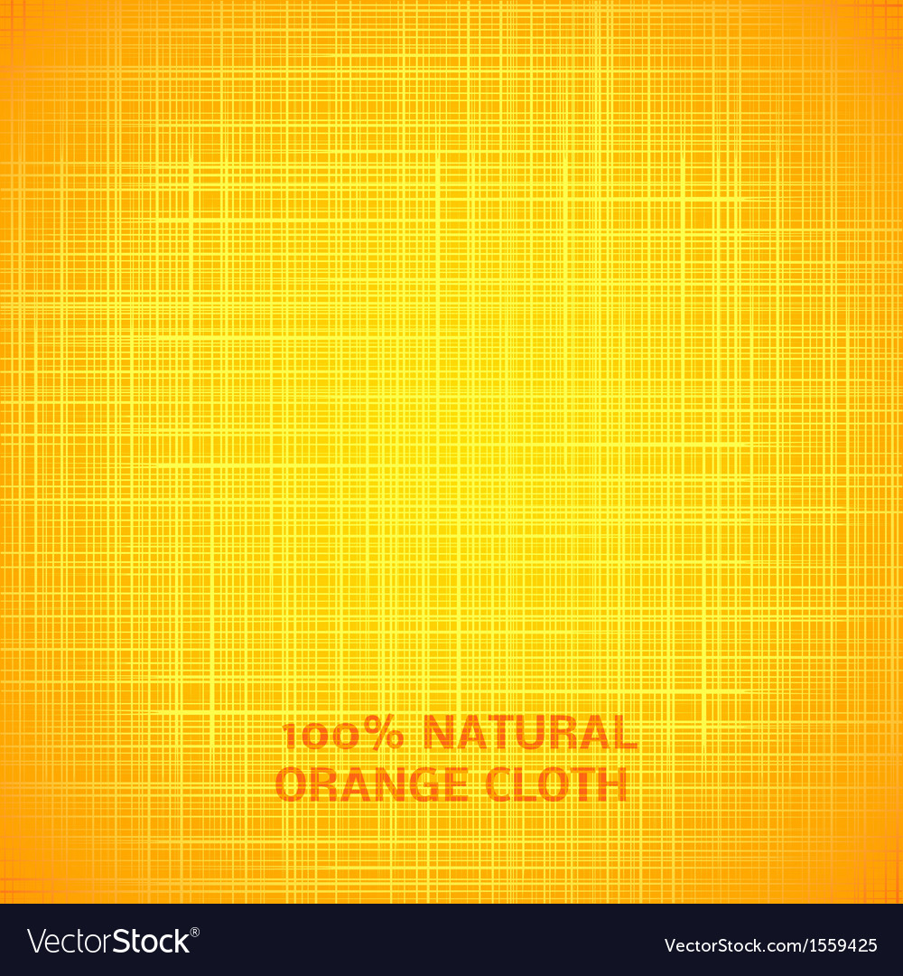 Orange cloth texture background vector | Price: 1 Credit (USD $1)