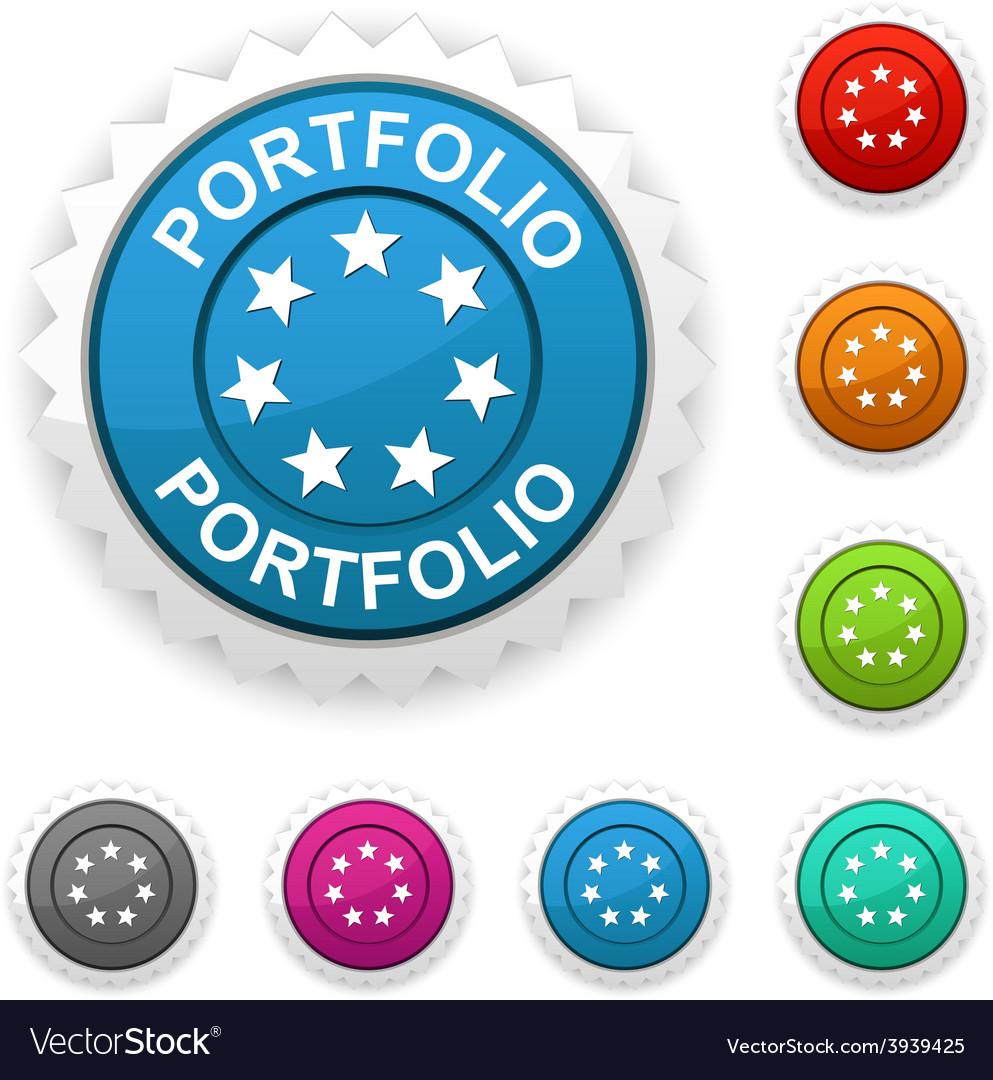 Portfolio award vector | Price: 1 Credit (USD $1)