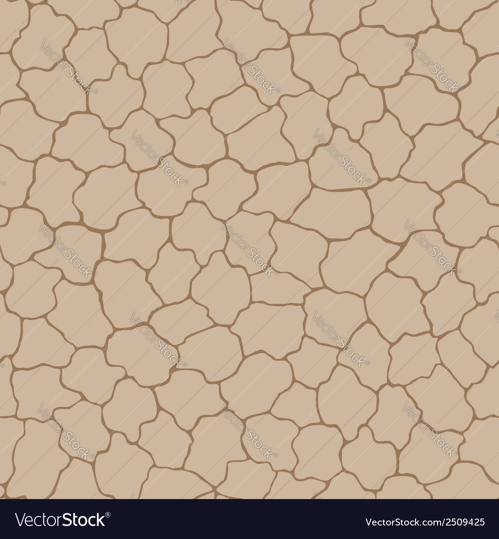 Seamless beige background with cracks vector | Price: 1 Credit (USD $1)