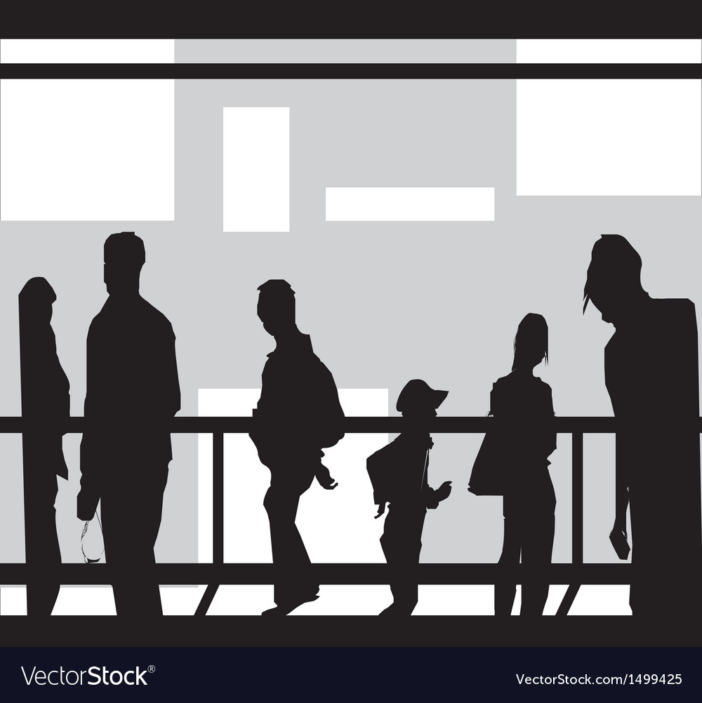 Tourists vector | Price: 1 Credit (USD $1)