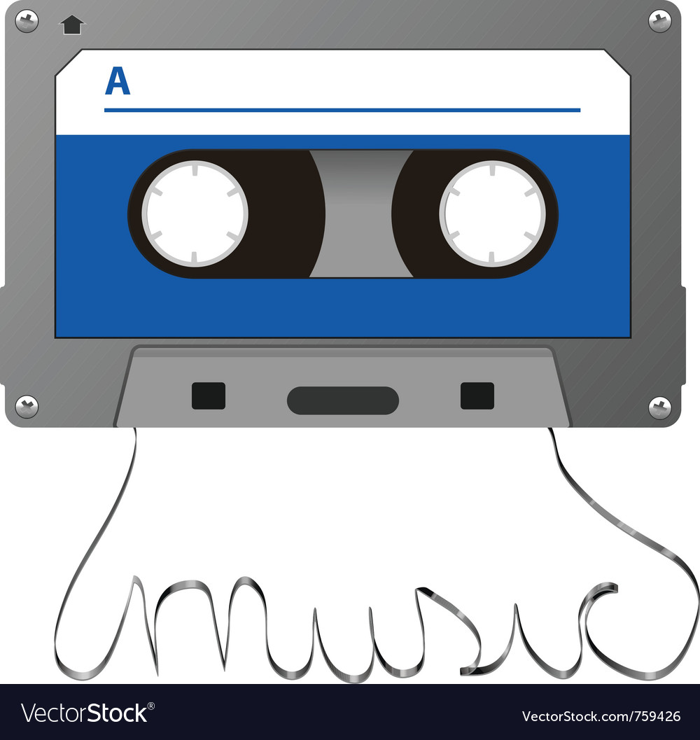 Adudio cassette vector | Price: 1 Credit (USD $1)