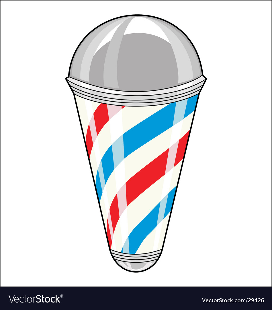 Barbershop pole vector | Price: 1 Credit (USD $1)