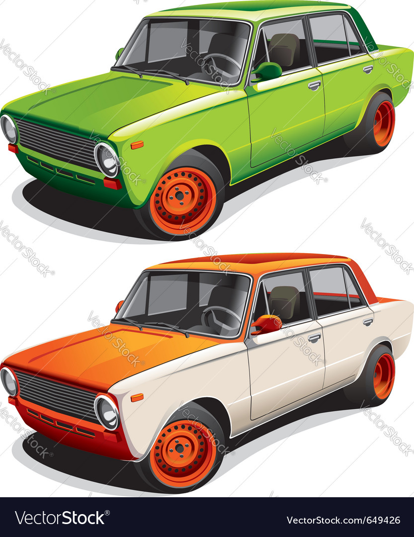 Retro car vector | Price: 3 Credit (USD $3)