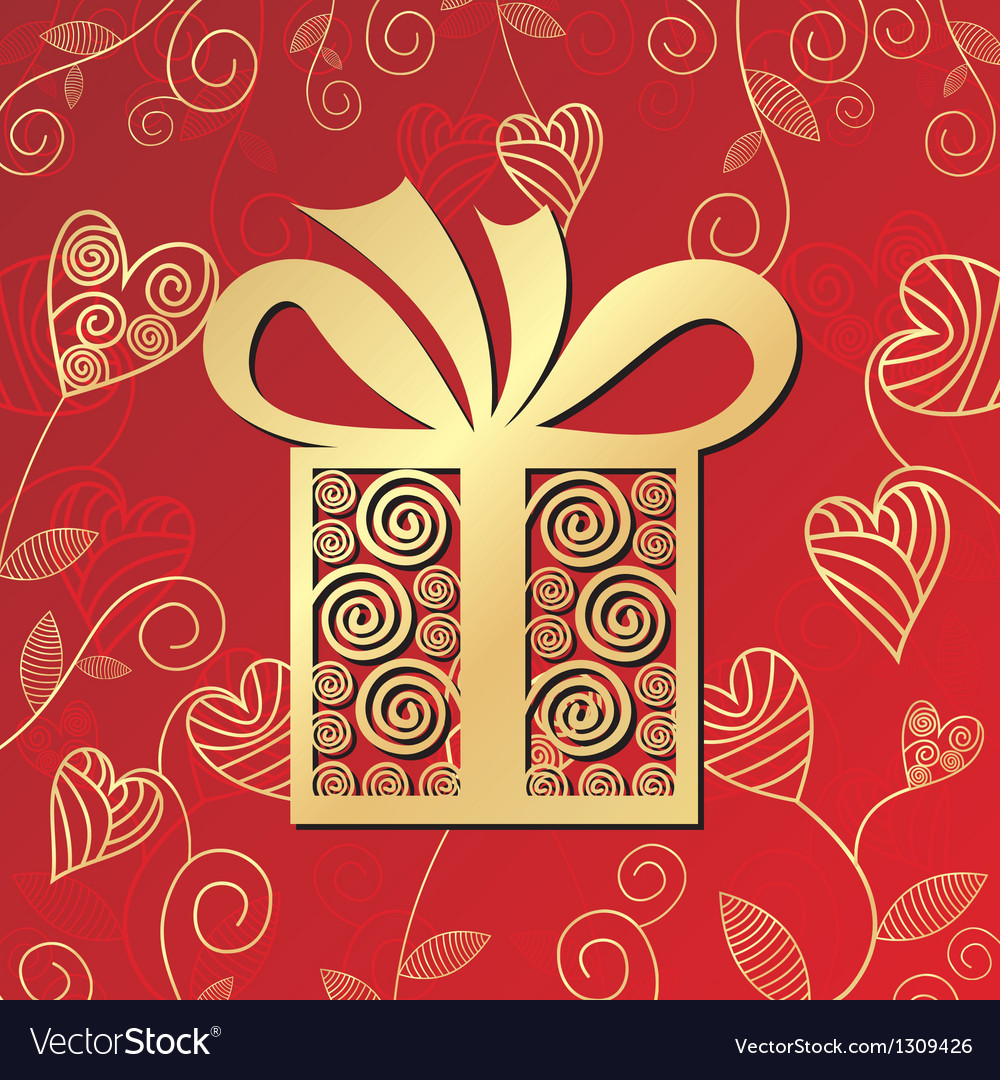 Romantic gift vector | Price: 1 Credit (USD $1)