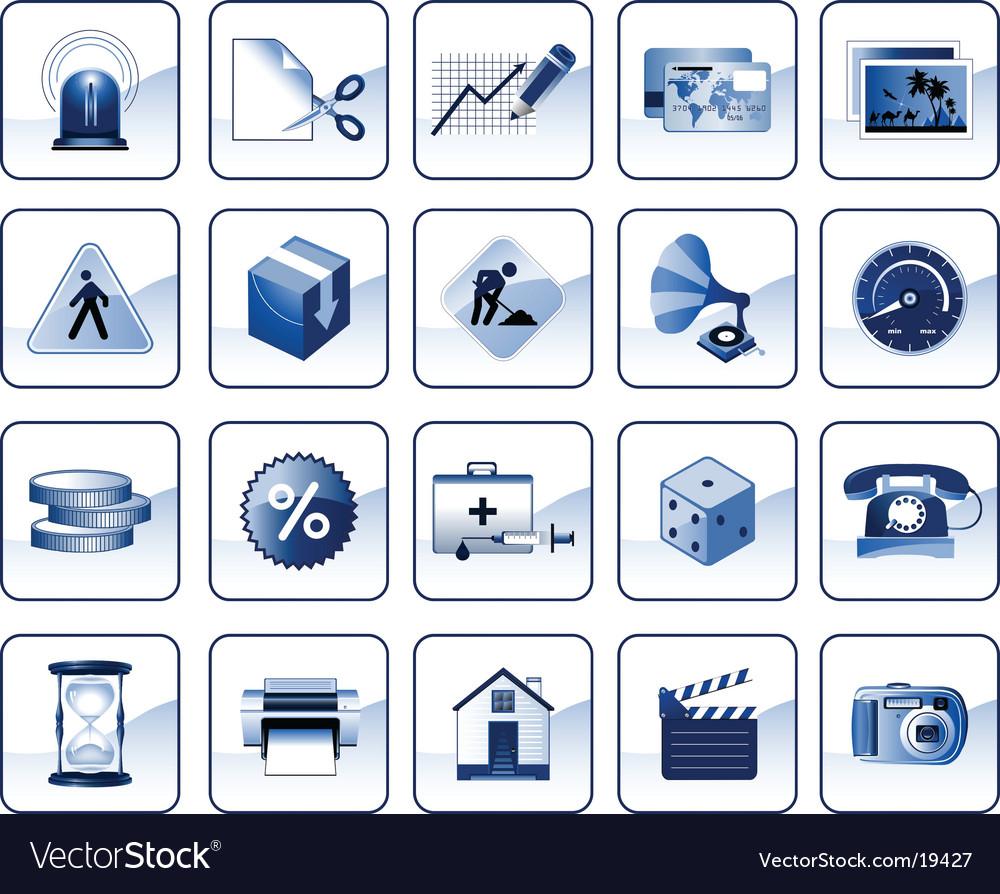 Internet icons vector | Price: 3 Credit (USD $3)