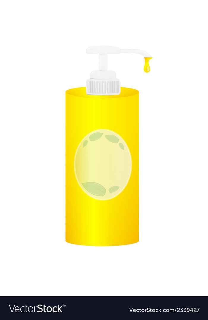 Liquid soap vector | Price: 1 Credit (USD $1)