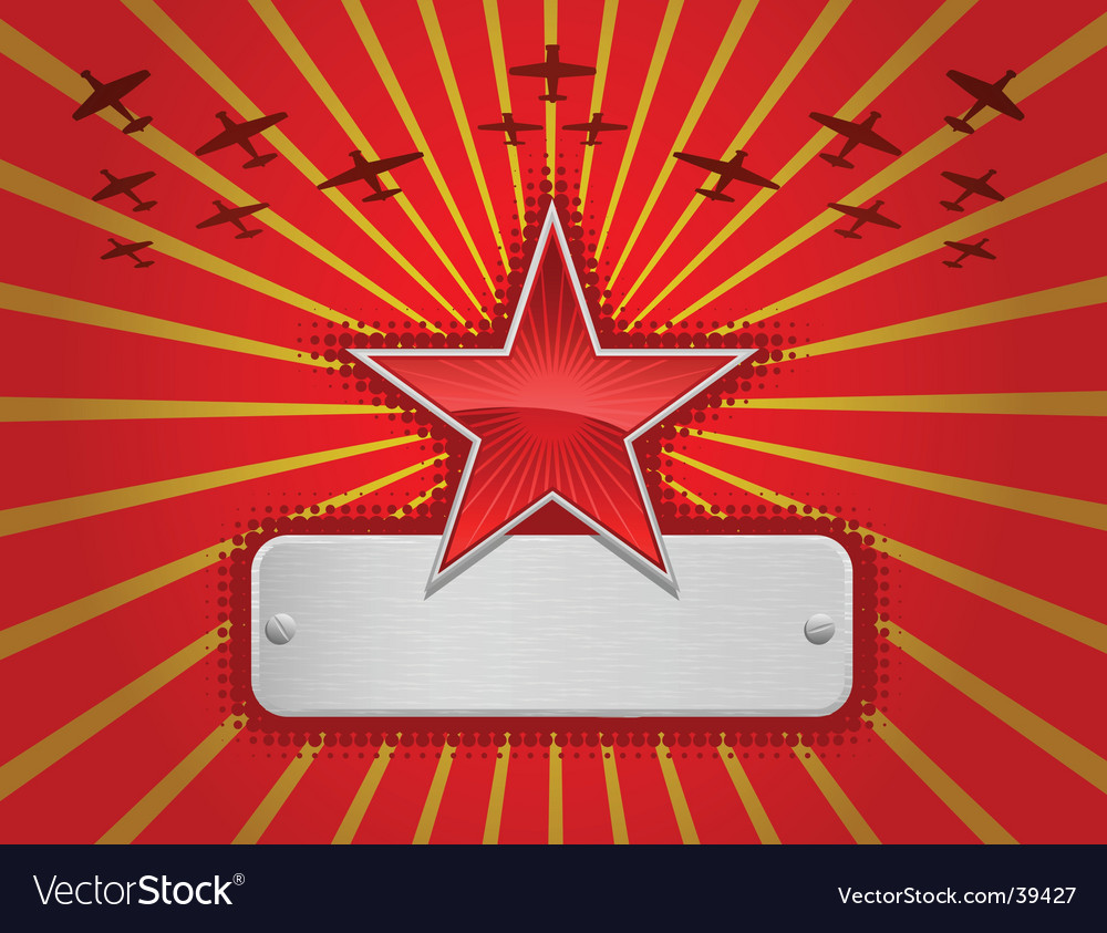 Illustration of red star vector | Price: 1 Credit (USD $1)